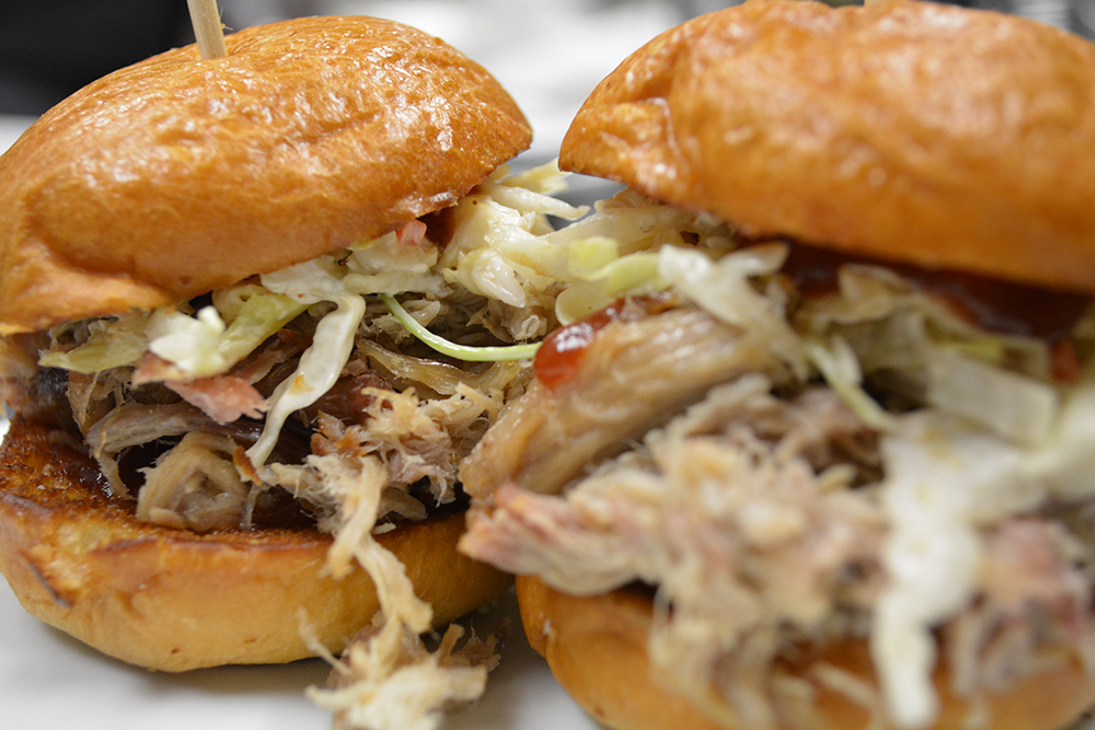 Lock, Stock & Smoked Pork Sliders