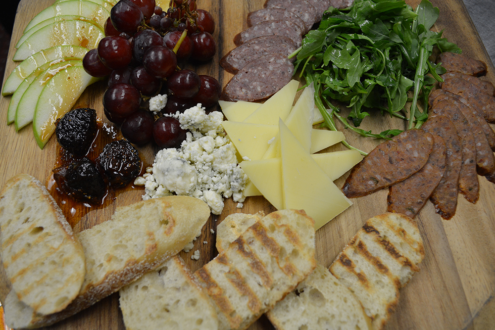Artisan Cheese and Protein Board